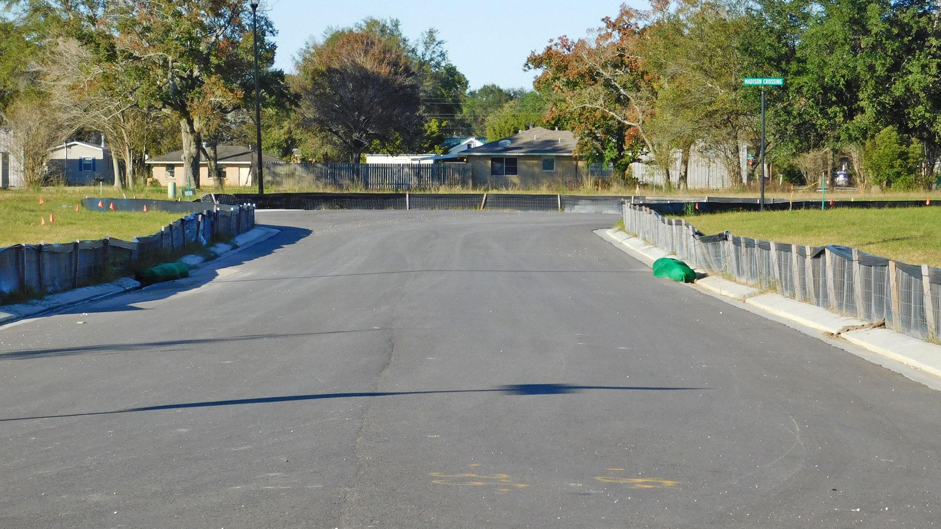 Silt fence_temporary sediment control _Lake Charles, LA